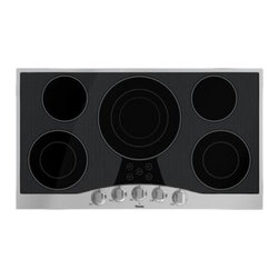 "Viking - RVEC3365B 36"" Wide 5 Element Built-In Electric Radiant Cooktop with QuickCook Su - Viking39s Built-In Electric Cooktop is a powerful cooktop with a wide variety of surface elements to offer professional grade cooking power Our cooktops are easy to clean thanks to the strong wear resistant glass ceramic top"