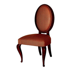 """GILANI - Oval Back Chair - Oval Back Arm Chair. Style no: SE25011. 24""""w x 22""""d x 44""""h."""