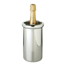 """Franmara - 8?"""" Vendome Premium Double Wall Stainless Steel Wine Cooler - This gorgeous 8?"""" Vendome Premium Double Wall Stainless Steel Wine Cooler has the finest details and highest quality you will find anywhere! 8?"""" Vendome Premium Double Wall Stainless Steel Wine Cooler is truly remarkable."""