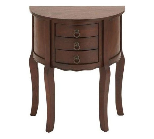 "Benzara - Wood Night Stand with Wood Brown Shade and Useful Drawer Front - Wood Night Stand with Wood Brown Shade and Useful Drawer Front. High on utility and elegance, this artistic wood night stand comes packed with premium features. The night stand is made of pure quality wood that is resistant to damage and erosion. It comes with a following dimensions 22""W x 12""D x 28""H."