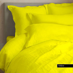 Comforter and 800 Egyptian Cotton Duvet Set and Sheet Set ( Full/Queen,Yellow ) - Egyptian Cotton sheets are�warm and cuddly in winter and�cool in summer - like a cozy t-shirt. Hypoallergenic and resistant to dust mites. Excellent solution for those who tend to sweat at night. Wick moisture and remain cool, and very fast drying. Provide a�luxurious softness, resist wrinkling and are strong and durable. You will be surprised how comfortable you will feel.