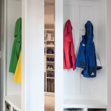 Contemporary Closet by Cory Connor Designs