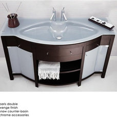 contemporary bathroom vanities and sink consoles by Unicahome