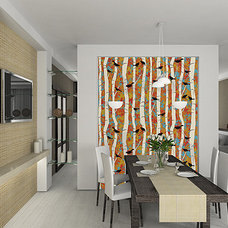 Modern Wallpaper by Casart Coverings