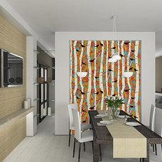 Modern Wallpaper by Casart Coverings