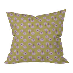 Caroline Okun Aspergillus Throw Pillow, 20x20x6