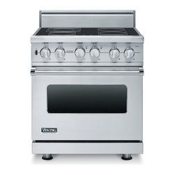 "Viking 30"" Pro-style Electric Range, Stainless Steel 