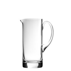 """Urban Bar - Straight Glass Jug - Straight glass jug by Urban Bar has a capacity of 28.2 oz, measures 8.1"""" tall. Made in Eastern Europe."""