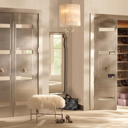 Contemporary Interior Doors Mdf Doors With Mirror Inlays And Back From Trustile S Nu