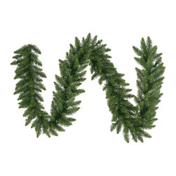 "Vickerman - Camdon Fir Garland 280 Tips (9' x 16"") - 9' x 16"" Camdon Fir Garland With 280 Tips"