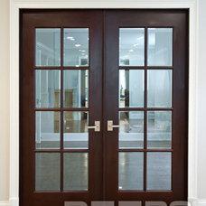 Modern Interior Doors by Doors For Builders Inc