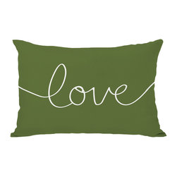None - Love Mix & Match Holiday - Ivory/Green Throw Pillow - Add a great conversation piece with bright and fun throw pillows that will surely liven up any space!