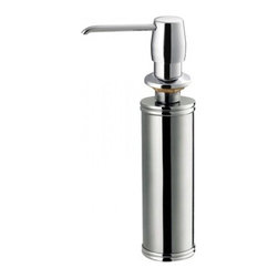 Yosemite Home Decor - Yosemite Home Decor MAG SSSD Soap/Lotion Dispenser, Stainless Steel - These high quality Yosemite sinks are a heavy gauge, type 304 (18/8), surgical grade, stainless steel for maximum durability-18-Percent chromium (for shine) and 8-Percent nickel (for rust resistance). Stainless steel is an extremely durable surface; it can, however, be scratched or scuffed. When scuffing does occur, please remember that this is normal and the effect will become uniform with age. The high quality stainless steel does not lose its attractive shine.