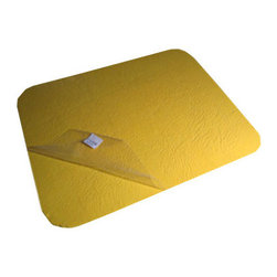 The Felt Store - Felt Memo Board - 16 x 13 Inch, Yellow - Great for organizing your workspace and presentations in the office or for displaying personal items and projects at home our Felt Memo Boards are a modern alternative to the bulletin board. Eliminate the need for tapes, glues, magnets and pins with a bright and colorful memo board that will keep your favorite photos and notes on the wall! A great tool to help with organizing photos, cards and artwork or planning for school, schedules and notes. Stick to your fridge, cupboards, walls and more! This product can be stuck to smooth or rough surfaces and can be removed and reused. This Felt Memo Board is 16 inches x 13 inches x 0.06 inch thick (406mm x 330mm x 1.5mm). Available in different sizes and colors. *Please note that this product may remove paint upon removal.*