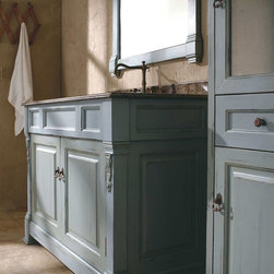 "48"" Catania Single Bath Vanity - Antique Ocean -"