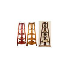 Wooden 5-tier Corner Bookshelf | Overstock.com