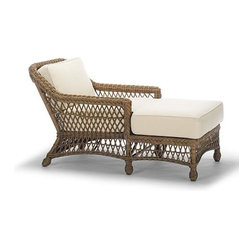 Hampton Outdoor Chaise Cushion - Frontgate, Patio Furniture