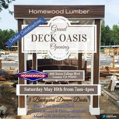 Homewood Building Supply Loomis Ca Us 95650