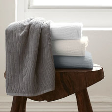 Contemporary Towels by West Elm