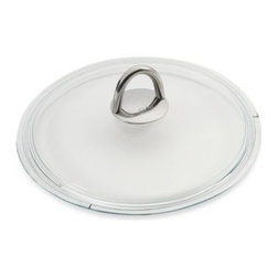 """Wmf - WMF Silit 8-Inch Glass Lid - This tempered glass cover is designed to snugly fit 8"""" diameter open cookware to help seal in moisture and nutrients. Ideal for low water, energy-saving and full view cooking, it comes complete with a stainless steel handle for ease of use."""