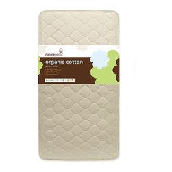Naturepedic - Naturepedic Quilted Organic Cotton Deluxe Crib Mattress - Heirloom Quality Construction