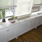 Contemporary AC/Radiator Cover - - Custom removable panel with custom panel detail