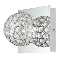 Lite Source - Lite Source LS-16538 Orsino Wall Lamp - Lite Source LS-16538 Orsino Wall Lamp