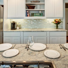 Contemporary Kitchen Cabinets by Crown Cabinets