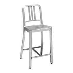 1006 Navy Counter Stool
