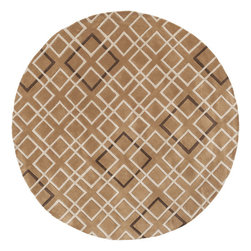 Surya - Hand Tufted Artist Studio Wool Rug ART-236 - 8' Round - Hand Tufted Artist Studio Wool Rug ART-236.