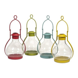 IMAX CORPORATION - Vittoria Glass Candle Lantern - Ast 4 - Vittoria Glass Candle Lantern - Ast 4. Find home furnishings, decor, and accessories from Posh Urban Furnishings. Beautiful, stylish furniture and decor that will brighten your home instantly. Shop modern, traditional, vintage, and world designs.