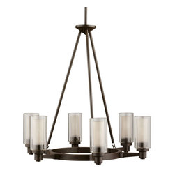 Kichler Lighting - Kichler Lighting 2344OZ Circolo Olde Bronze 6 Light Chandelier - Kichler Lighting 2344OZ Circolo Olde Bronze 6 Light Chandelier