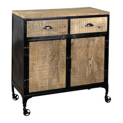 Jean 2 Drawer 2 Door Sideboard - Product Features: