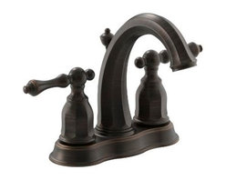 KOHLER - KOHLER K-13490-4-2BZ Kelston Centerset Lavatory Faucet in Oil-Rubbed Bronze - KOHLER K-13490-4-2BZ Kelston Centerset Lavatory Faucet in Oil-Rubbed Bronze