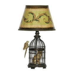 Titan Lighting - Bed Side Lamps: 18 in. Trading Places Table Lamp 684-32738 - Shop for Lighting & Fans at The Home Depot. Whimsical design will inspire your decor. Enhance any room. Detailed design of shade coordinates flawlessly with fixture.