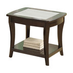 Riverside Furniture - Riverside Furniture Annandale End Table in Dark Mahogany - Riverside Furniture - End Tables - 12406 - The Arkansas River Valley is home of majestic forests, ruggedly beautiful mountains, gurgling brooks and swiftly flowing rivers. It is also the home of Riverside Furniture Corporation. But like they would with any old friend, most folks refer to us just by our first name.