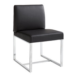 Addison Dining Chair, Black, Set of 2
