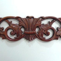 O'Neil Cabinets' Small Decorations - O'Neil Cherry decorative onlay with grape design.