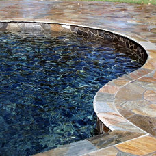 Contemporary Swimming Pools And Spas by Rustic Brick and Stone