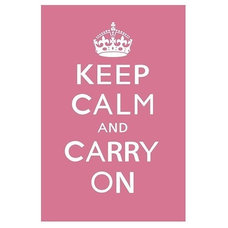 Contemporary Prints And Posters Keep Calm and Carry On