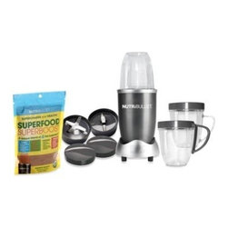 Nutribullet - MagicBullet NutriBullet - Nutribullet12-piece blending/juicing system let's you easily chop, shred and dice any food. Exclusive Cyclonic Action along with the included extractor blade generates the power to break down and emulsify foods for maximum nutrient extraction.