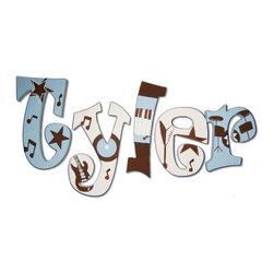 RR - Tyler Rocker Hand Painted Wall Letters - Tyler Rocker Hand Painted Wall Letters