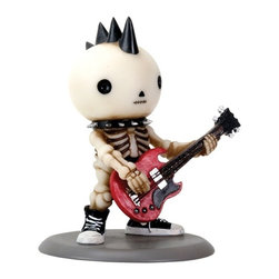 Summit - Lucky The Skeleton Rocking The Bass Guitar - Rockband Edition Figurine - This gorgeous Lucky The Skeleton Rocking The Bass Guitar - Rockband Edition Figurine has the finest details and highest quality you will find anywhere! Lucky The Skeleton Rocking The Bass Guitar - Rockband Edition Figurine is truly remarkable.