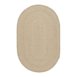 Safavieh - Braided Oval Polypropylene Rug (10 ft. x 8 ft) - Choose Size: 10 ft. x 8 ft. Country style. Hand made. Beige and brown color. Made in India. Introducing Safavieh's Braided Rug Collection. The vibrant colors makes selecting this rug easy to match the decor in any room and are reversible to give excellent value. Care Instructions: Vacuum regularly. Brushless attachment is recommended. Avoid direct and continuous exposure to sunlight. Do not pull loose ends; clip them with scissors to remove. Remove spills immediately; blot with clean cloth by pressing firmly around the spill to absorb as much as possible. For hard-to-remove stains professional rug cleaning is recommended.