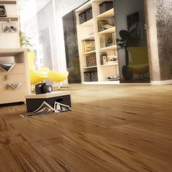 Tigerwood Engineered - Our Tigerwood Engineered flooring comes in both smooth and textured.