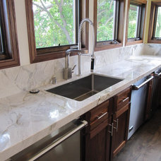 Transitional Kitchen Countertops by Classic Tile and Mosaic