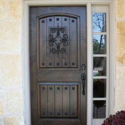 Estancia Entry Doors 3 X 6 8 Quot Estancia Single Door By
