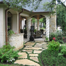 Contemporary Exterior by Complete Landsculpture
