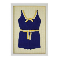 Custom Framed Vintage Wool Bathing Suit - $1,750 Est. Retail - $1,200 on Chairis -