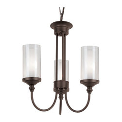 Trans Globe Lighting - Trans Globe Lighting TG-3926 Fremont Double Glass Transitional Chandelier - Trans Globe Lighting TG-3926 Fremont Double Glass Transitional Chandelier